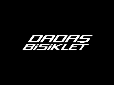 Dadaş Bisiklet - Logo Reveal minimalism typography design concept digital aftereffects c4d cinema4d 3d animation animation video intro logo animation logo reveal bicycle