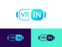 VR IN / Logo Design