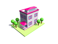 Cube Buildings / 2