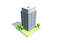 Cube Buildings / 3