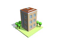 Cube Buildings / 7