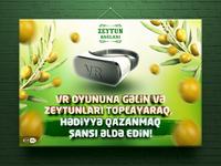 Zeytun Bağları / VR Game Poster