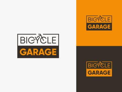 Bicycle Garage ™ Logo Options 1 of 4