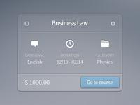 Business Law Rebound
