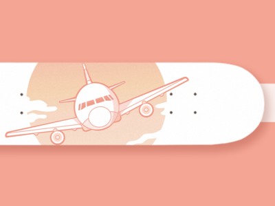 Plane Skateboard