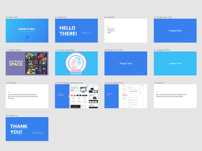 Portfolio Presentation slides presentation portfolio figma