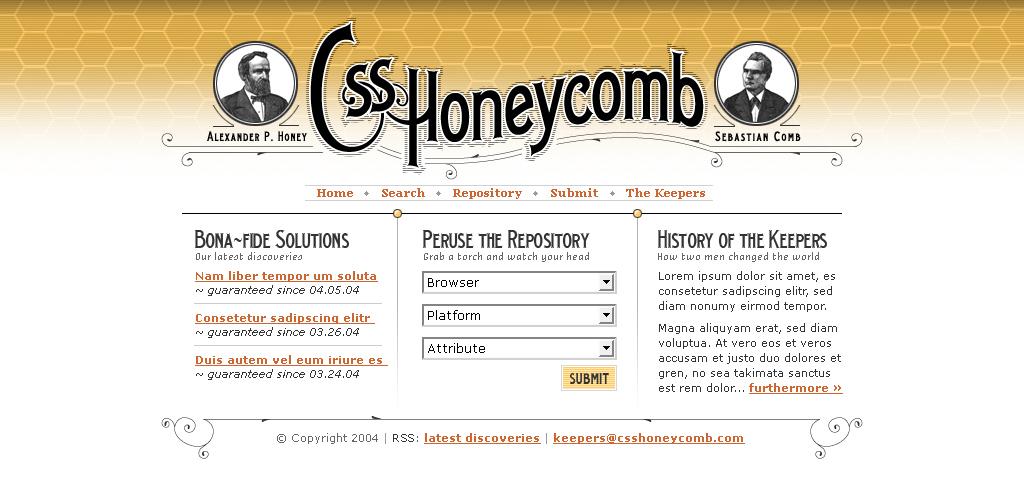 Css honeycomb