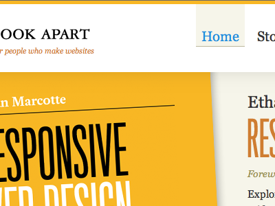 Not long now aba yellow a book apart responsive web design ethan marcotte