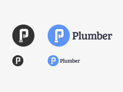 plumber.js logo variations