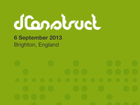 dConstruct 2013