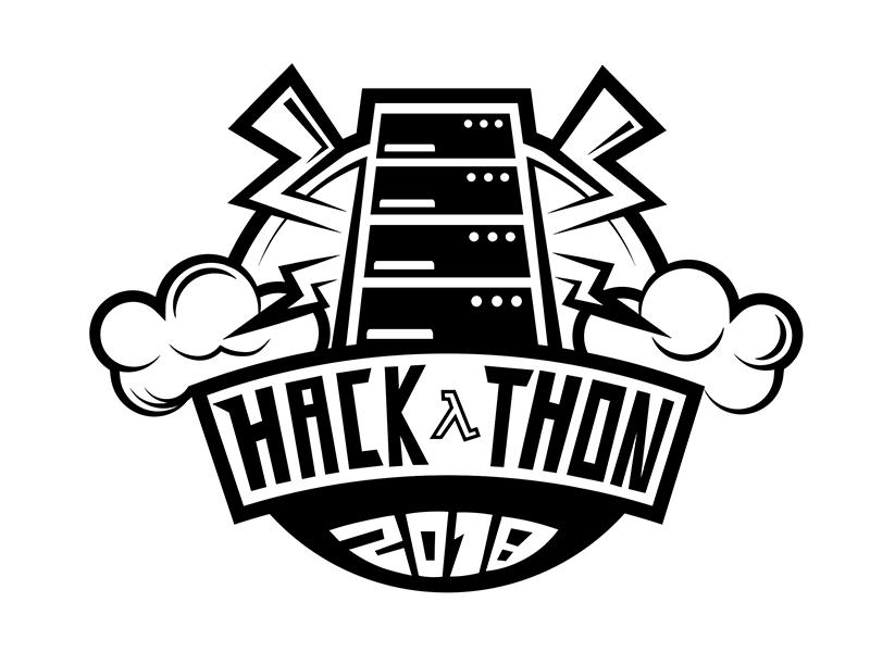 Hackathon T-shirt Design 2 branding design 2018 aws cloud server print shirt party code