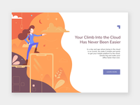Mobile Climb Landing Page