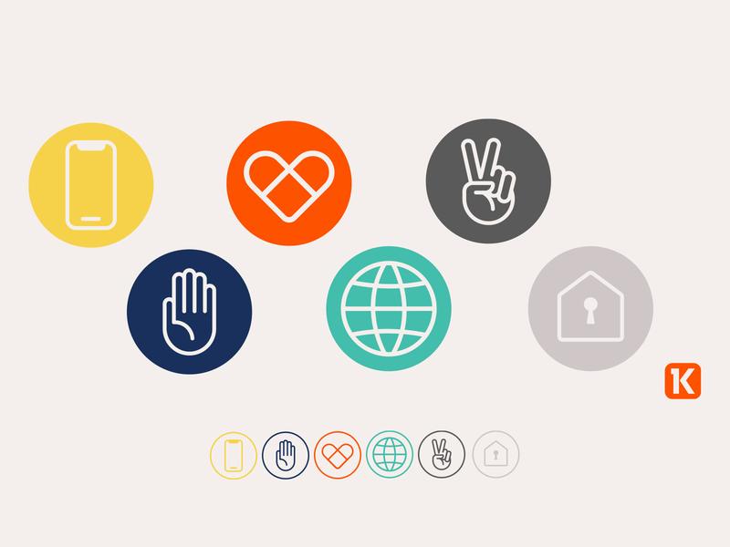 Corona Communications iconset covid-19 virus logos icons church design