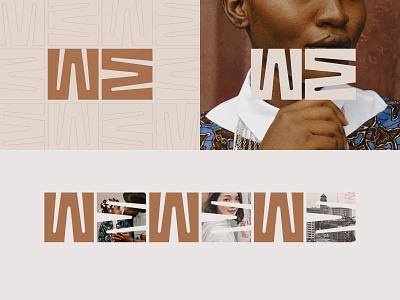 WE ƎW WE social justice justice race unity we branding wordmark logo nonprofit