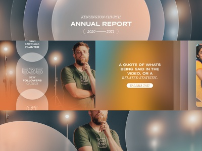 Annual Report Style Frames keyframe style frame christianity infographics ui frost church design motion graphics annual report