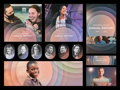 Kensington Church Annual Report #Graphics michigan nonprofit infographics annual report christian social branding church design