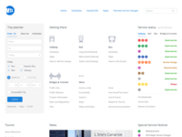MTA Website Restyling following Dropbox style guides