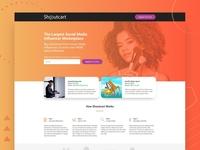 Shoutcart Landing Page