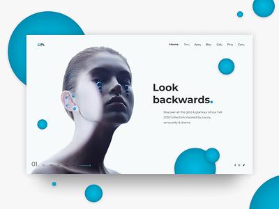 Zipl ui beauty fashion ecommerce web design uidesign