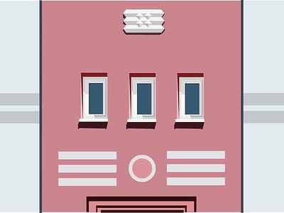 House art illustration