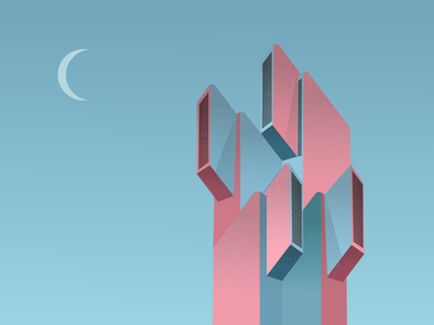 Architecture art illustration