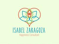 Logo Design Isabel Zaragoza Consultant