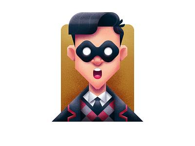 The Umbrella Academy – Five (The Boy) ipad pro character characterdesign vector illustration vector affinitydesigner illustration five umbrella academy