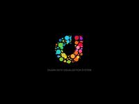 DAJIAN Data Visual Logo Design