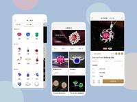 Charity & Jewelry app