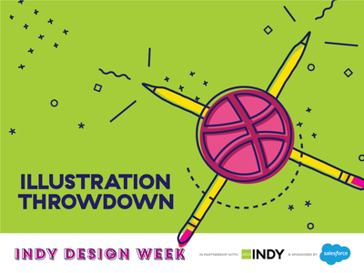 INDW2020 Illustration Throwdown indydw2020 indydwthrowdown indydesignweek aigaindianapolis indykeepscreating illustration