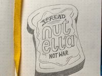 Spread Nutella, Not War