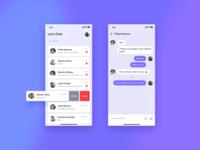Let's Chat /UI practice