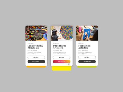 Landing Luna Color 03 website flat design typography web ux ui  ux design ui digital visualdesign