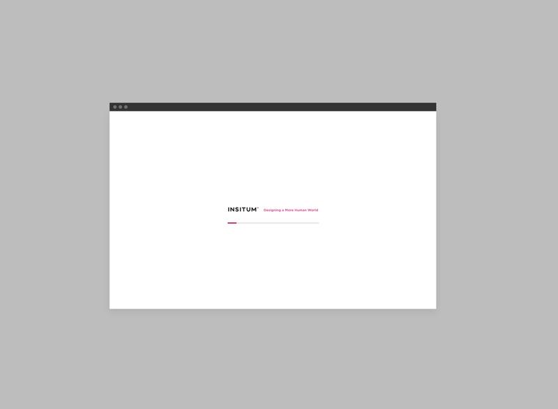Landing Insitum / archive 2017 website xperience ux app branding ui ui  ux design digital visualdesign design