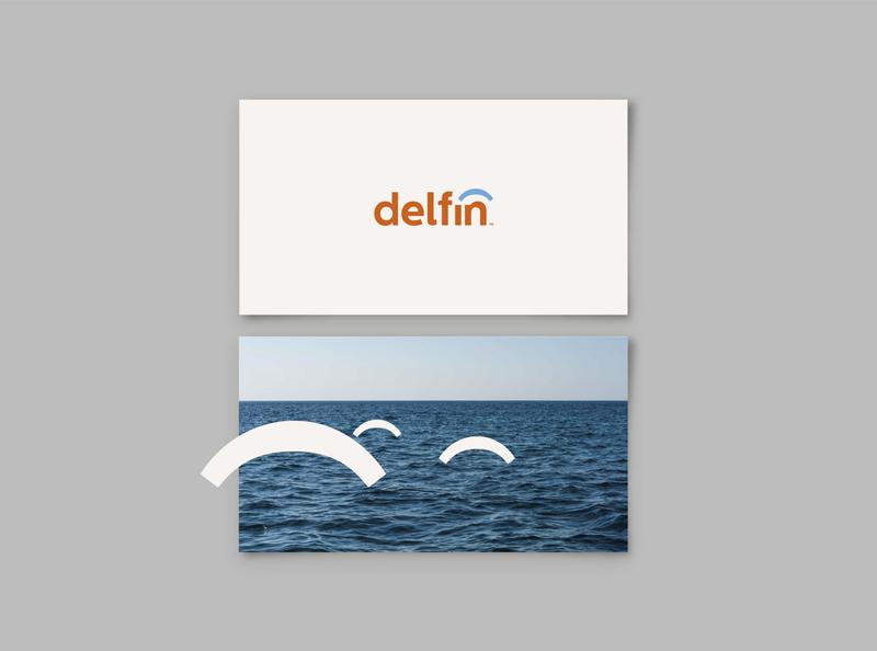 Delfín Visual identity brand identity isologo graphicdesign marca typography logo branding visualdesign design