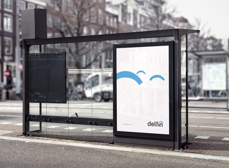 Delfín Identity diseño diseño gráfico marca icon typography visualdesign logo branding design