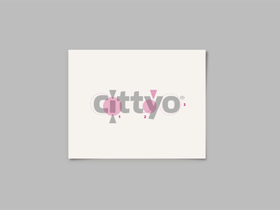 Cittyo_ Visual Design & Branding isologo marca ui  ux design app typography logo branding ui digital visualdesign design