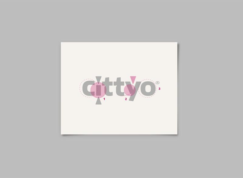 Cittyo_ Visual Design & Branding isologo marca ui  ux design app typography logo branding ui digital visualdesign design