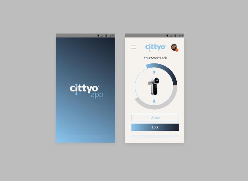 Cittyo_ Visual Design & Branding website marca logo app branding ui  ux design ui digital visualdesign design