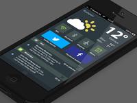 Dashboard iOS 8