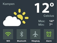 iOS 8 Dashboard