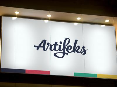 Artifeks artifeks office mockup design logo corporate identity colors