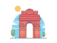 India Gate!!
