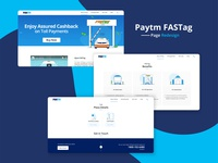 Paytm FASTag page redesign