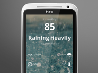 (Yet another) Android weather app