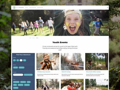Camp Website – Event Results