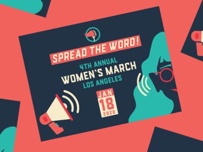 Women's March Los Angeles 2020