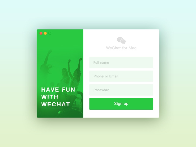 Day001 | Sign Up by JohnnyASNT | Dribbble | Dribbble