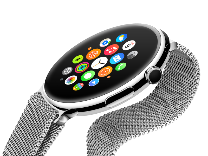 What if Apple Watch was round? apple watch watch ios iphone round