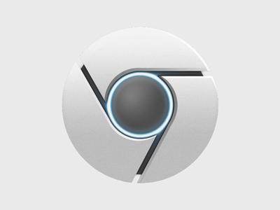 Chrome icon dribbble